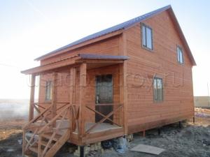 Каркасные дома 10х12 ДП38