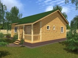 Каркасные дома 10х9.5 ДП56