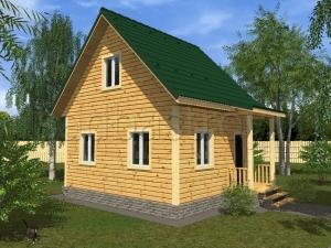 Каркасные дома 5х6 ДП47