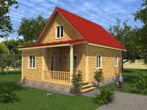 Каркасные дома 6х10 ДП50