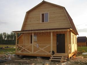 Каркасные дома 7.5х6 ДП46