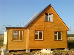 Дома из бруса 8х6 ДП42