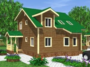 Каркасные дома 9х10 ДП10
