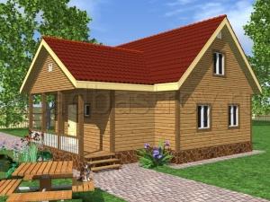 Каркасные дома 9х10 ДП6