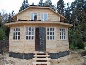 Каркасные дома 9х6 ДП39