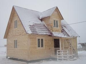 Дома из бруса 9х6 ДП40